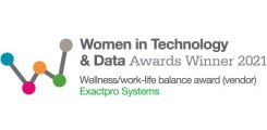 <span>Women in Technology and Data Awards</span>