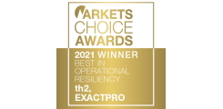 "<span>""Best in Operational Resiliency"" Markets Choice Award</span>"